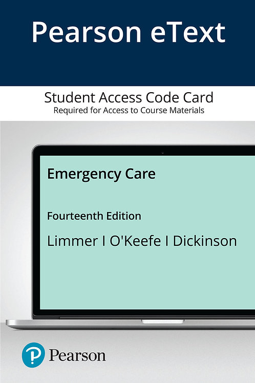 [Courseware] Emergency Care, 14th Edition