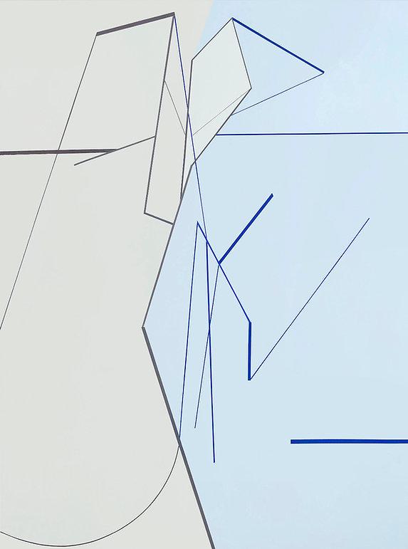 Simulation 15, 180 x 135 cm , acrylic on