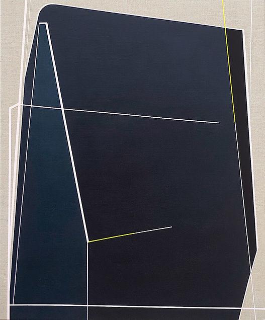 Jazz#1, 110 x90 cm, acrylic on canvas .
