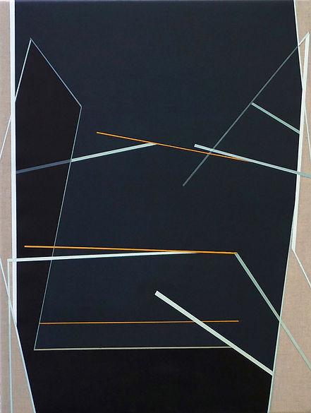 LA Night , 60 x45 cm acrylic on linen201