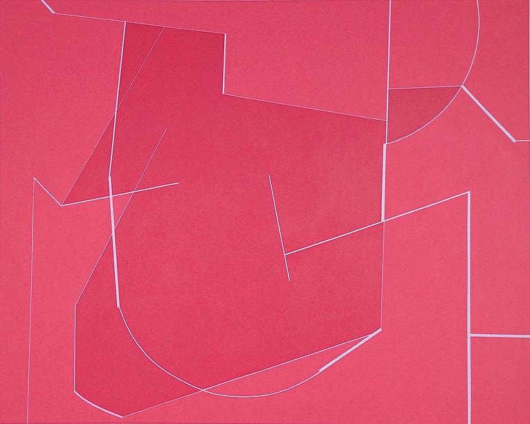 Momentum, 155 x 200cm, acrylic on canvas