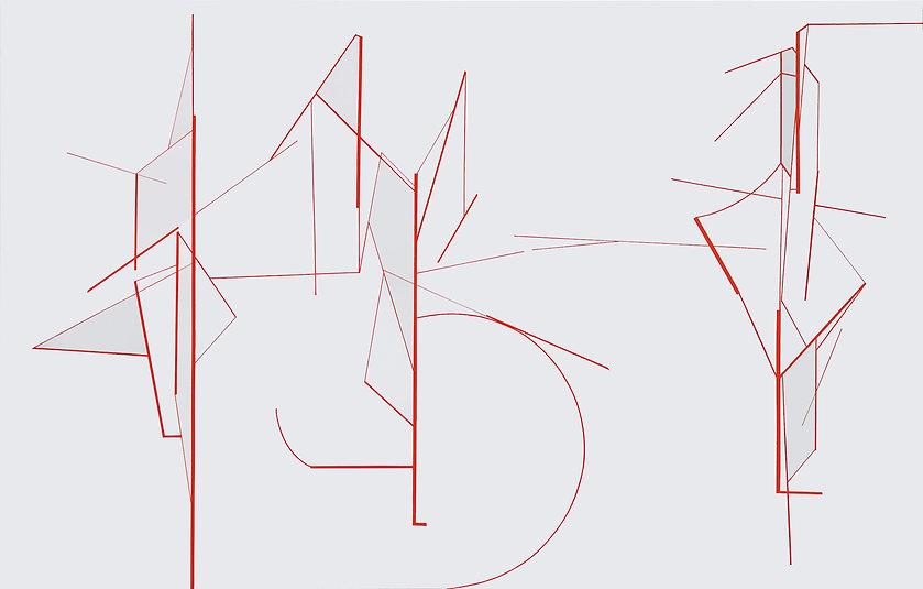 simulation, nr 13 - 160 x 250cm - 2019