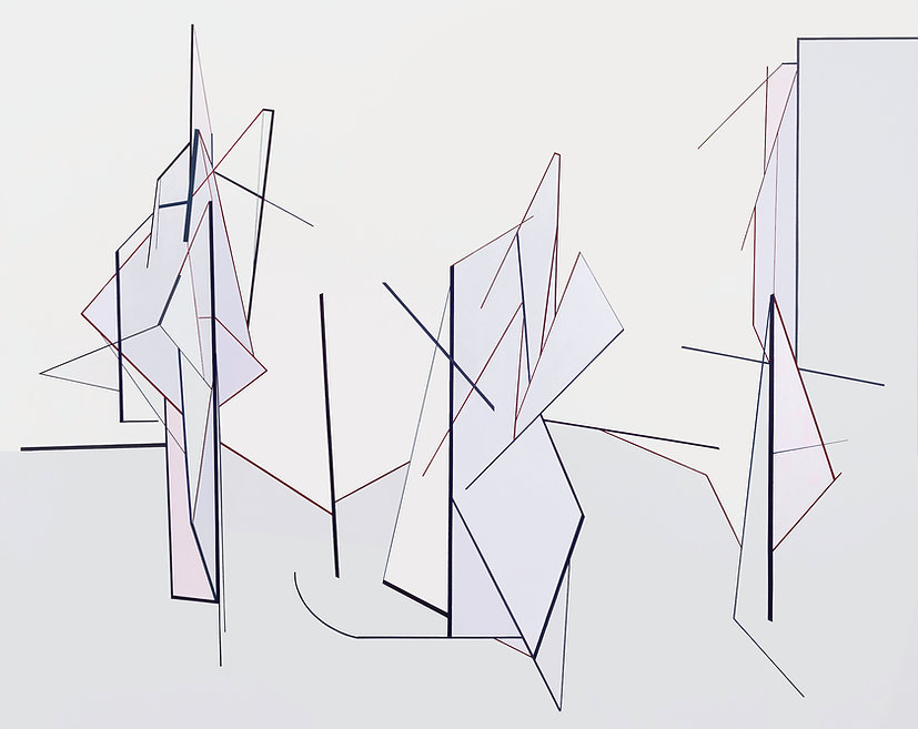 Simulation, Nr. 14 - 200 x 250cm SMALL D