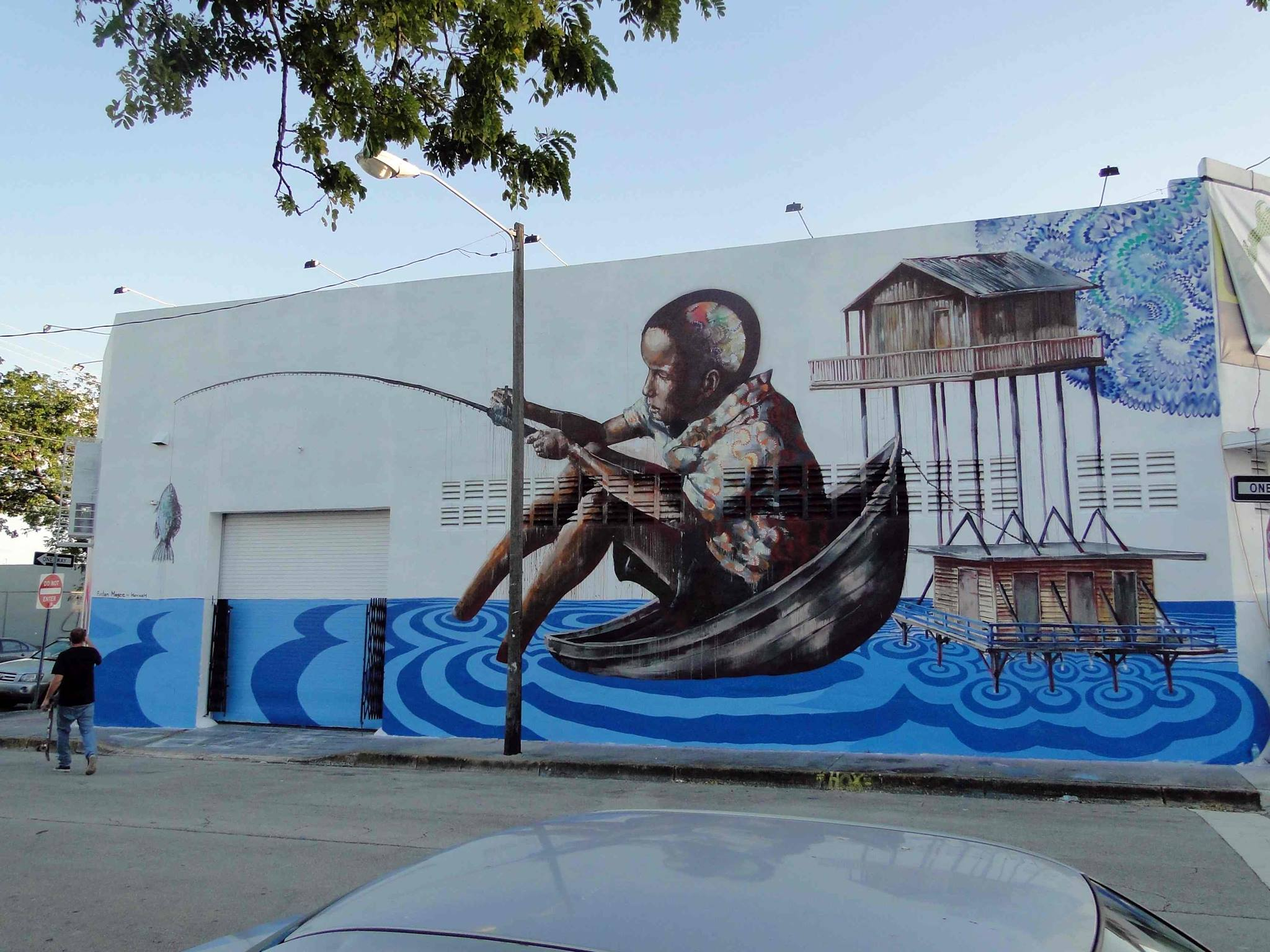 Mural collaboration, Miami