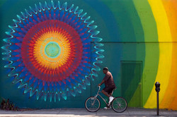 Hoxxoh mural in Wynwood, Miami