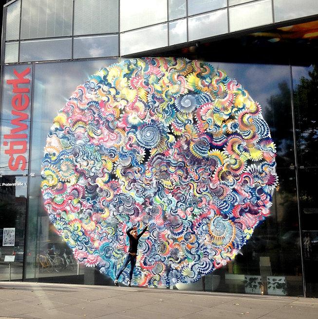 Hoxxoh Sofitel Vienna mural