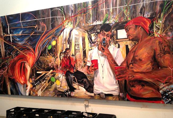 Miami artist Michael Vasquez
