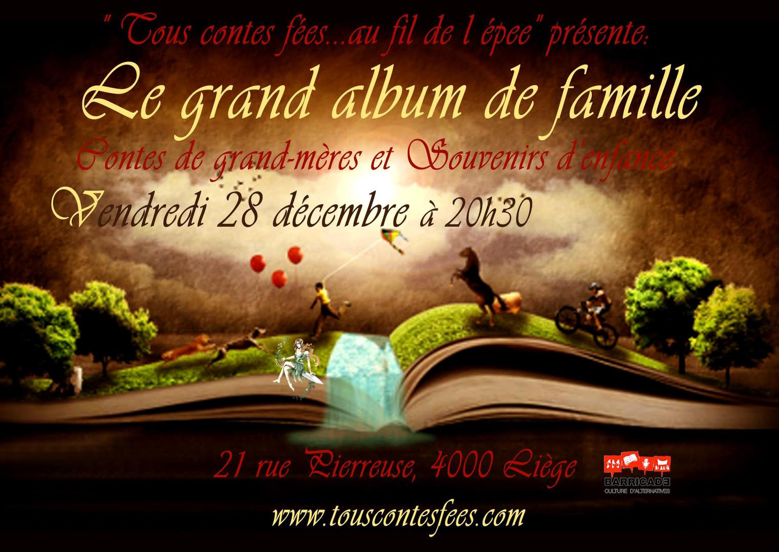 Le grand album de famille