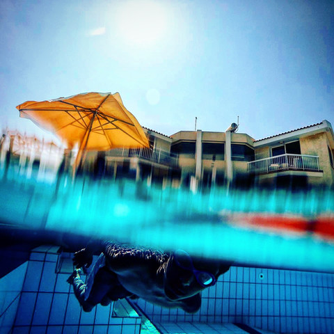 Under Water Swimming