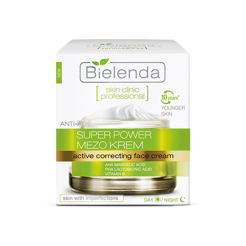 BIELENDA SKIN CLINIC PROFESSIONAL Корректирующий крем c миндальной кислотой