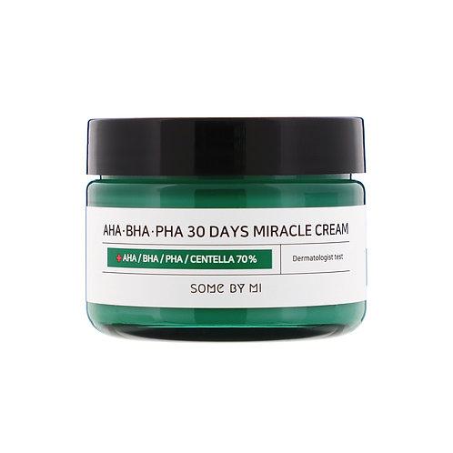 SOME BY MI Крем с кислотами AHA-BHA-PHA 30 Days Miracle Cream, 60 гр