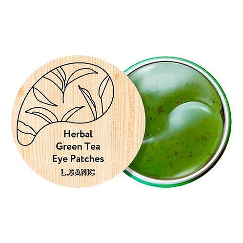 L.SANIC Гидрогелевые патчи с экстрактом зеленого чая, 60шт
