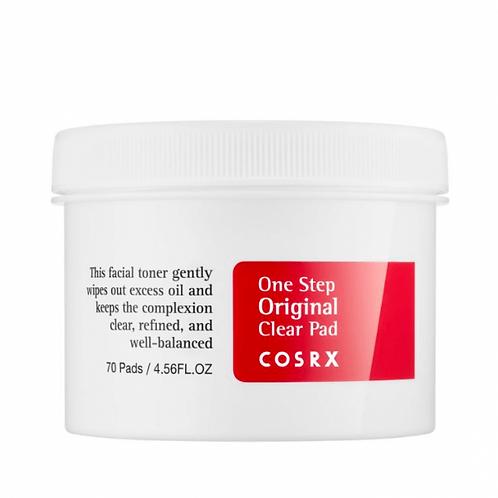COSRX Очищающие пэды для лица One Step Pimple Clear Pad, 70 шт