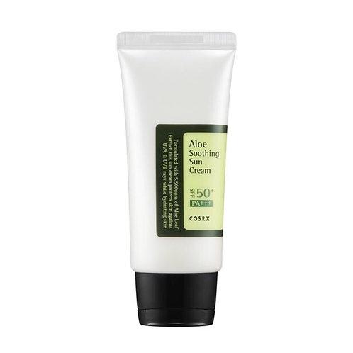 COSRX Солнцезащитный крем с алоэ вера Aloe Soothing Sun Cream SPF50 PA+++, 50 мл
