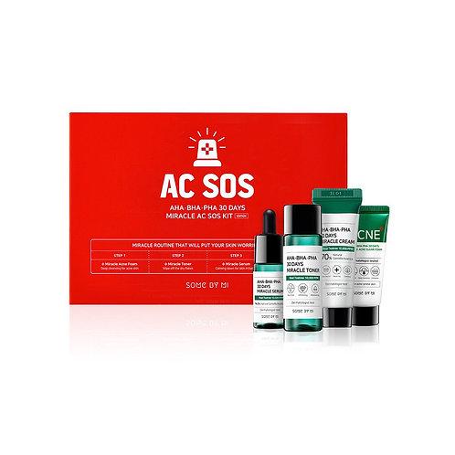 SOME BY MI Набор для проблемной кожи AHA-BHA-PHA 30 DAYS Miracle AC SOS Kit
