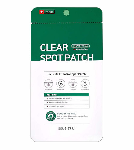 SOME BY MI Патчи от воспалений и акне Clear Spot Patch, 18 шт