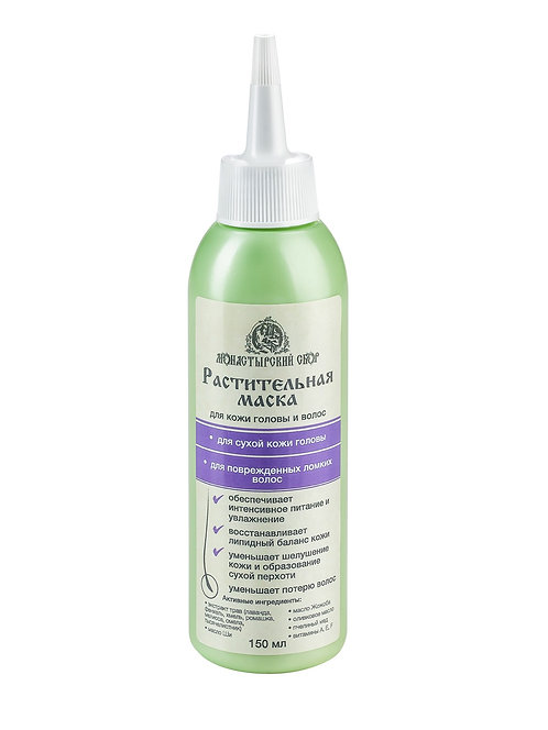 KLEONA Маска для волос питательная для сухой кожи головы и волос, 150 мл