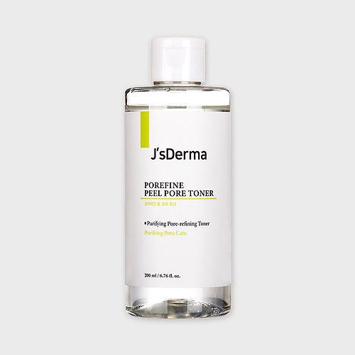 JsDERMA Пилинг-тонер с гликолевой кислотой Porefine Peel Pore Toner, 200 мл