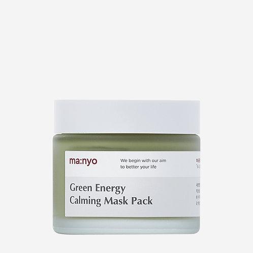 Manyo Factory Охлаждающая глиняная маска GREEN ENERGY CALMING MASK PACK, 75 мл