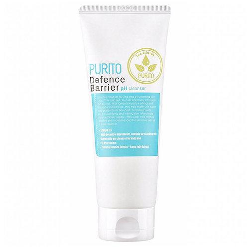 PURITO Гель для умывания низкокислотный Defence Barrier pH Cleanser, 150 мл