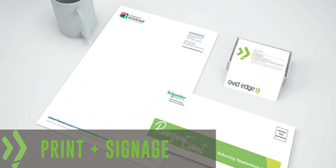 Print + Signage