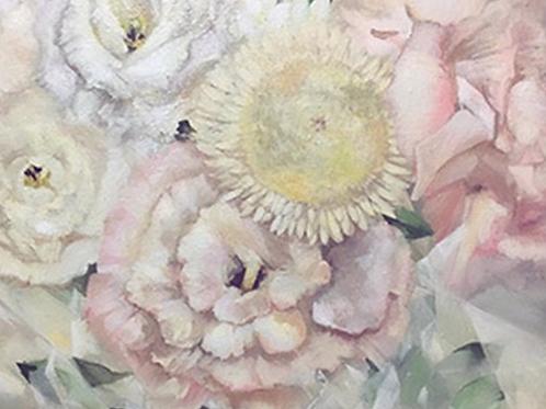 flower 油絵