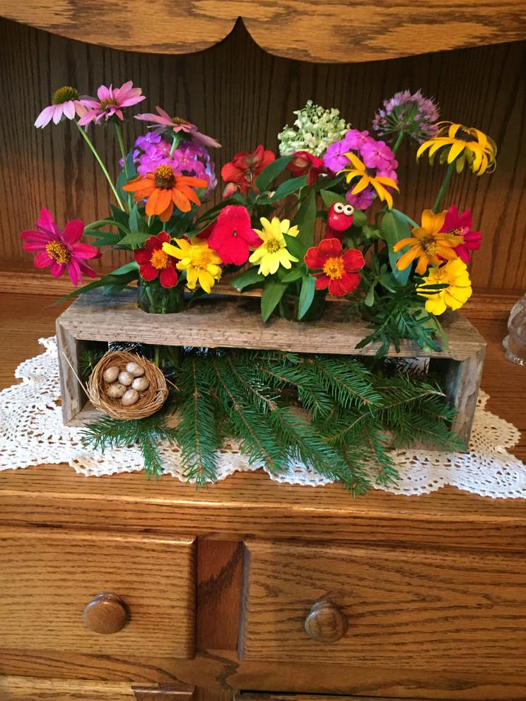 Summer Blooms by Joyce Geib