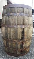 ウイスキー空き樽