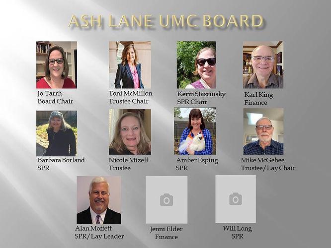 Meet Ash Lane's Board  Updated 05.26.21.