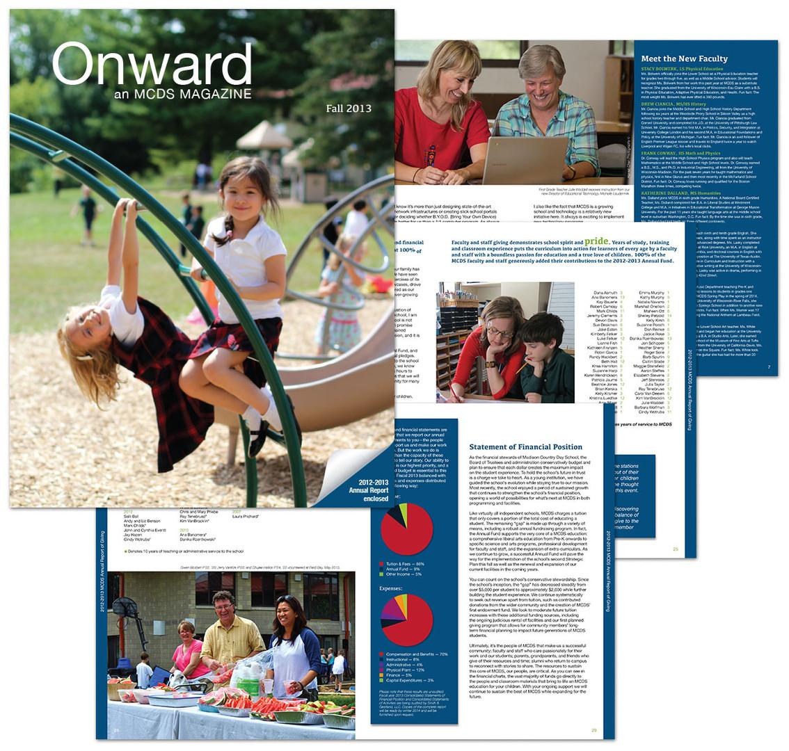 MCDS Onward Magazine