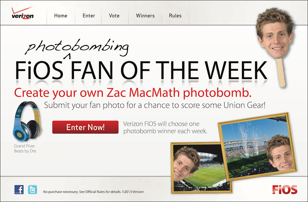 Fios Fan of the Week Sweepstakes
