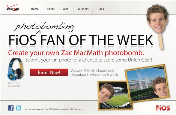 Fios Fan of the Week Sweepstakes