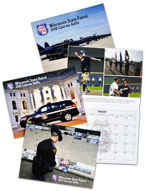 Wisconsin Troopers Raffle Calendars