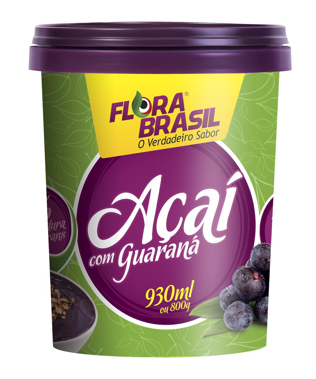 Pote embalagem Açaí Flora Brasil