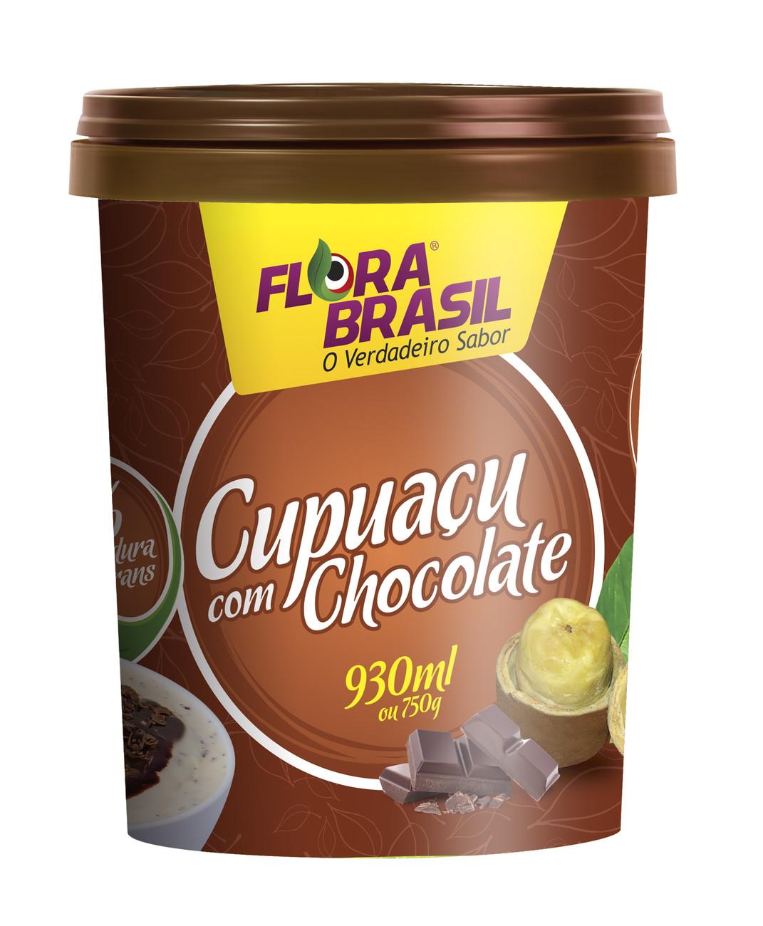 Pote embalagem Cupuaçu  Flora Brasil