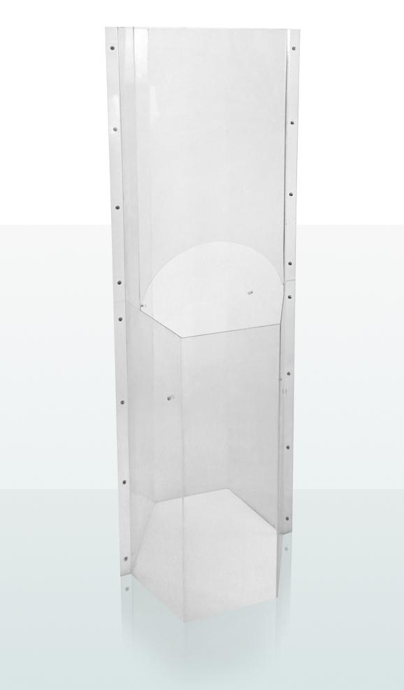 Golvställ i Plexiglas