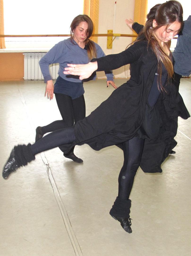 Dance theater rehersal
