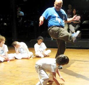 Capoeira class for kids