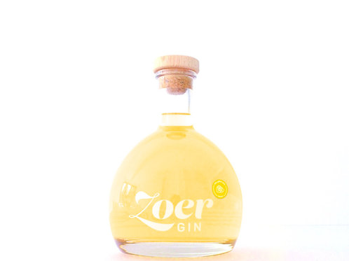 PRE ORDER Zoer Gin 'the yellow one' • Lemon • 70cl & 40% alc. vol