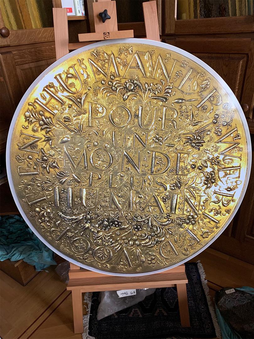 Gouden Medaille Wereldtentoonstelling Brussel 1958, voor een humanere wereld, Prof. Tomatis