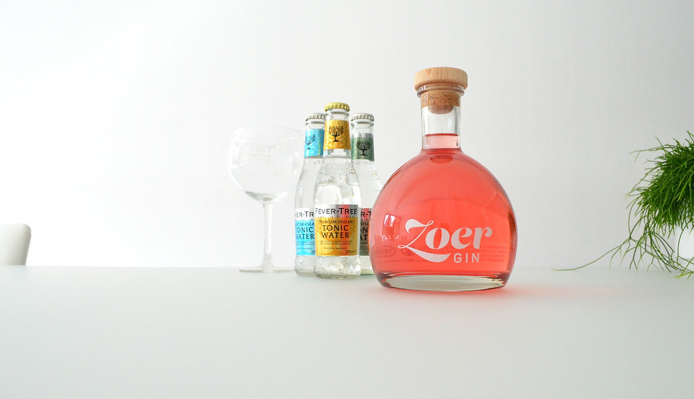 ZOER gin & fever-tree tonic