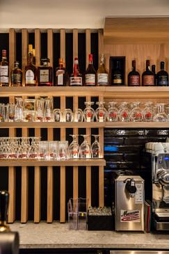 houten bar