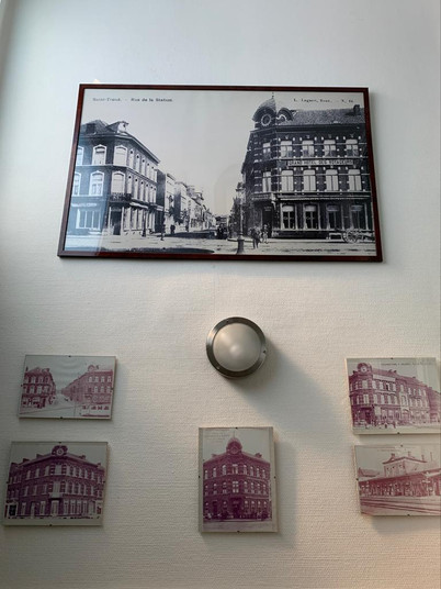 Mozart Brain Lab bevindt zich in het vroeger Hotel des voyageurs in Sint-Truiden