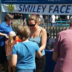 Smiley Face Tombola at Headcorn