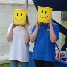 Our Smiley Face volunteers!