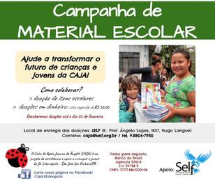 Campanha - Material Escolar