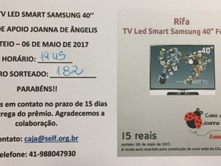 RIFA - TV LED SMART SAMSUNG