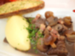 Beef Bourguinion