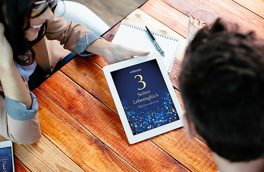 3 Seiten Lebensglück ist für perfekt für die Reise, um auf dem Smartphone, dem Tablet oder deinem PC neue Lebensfreude zu spüren!!
