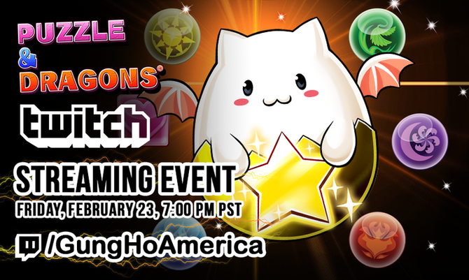 Official Puzzle & Dragons Twitch Stream